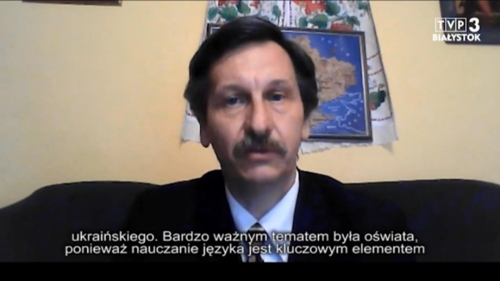 У програмі «Український перегляд» директор ПНІ говорив про Європейську хартію регіональних або меншинних мов