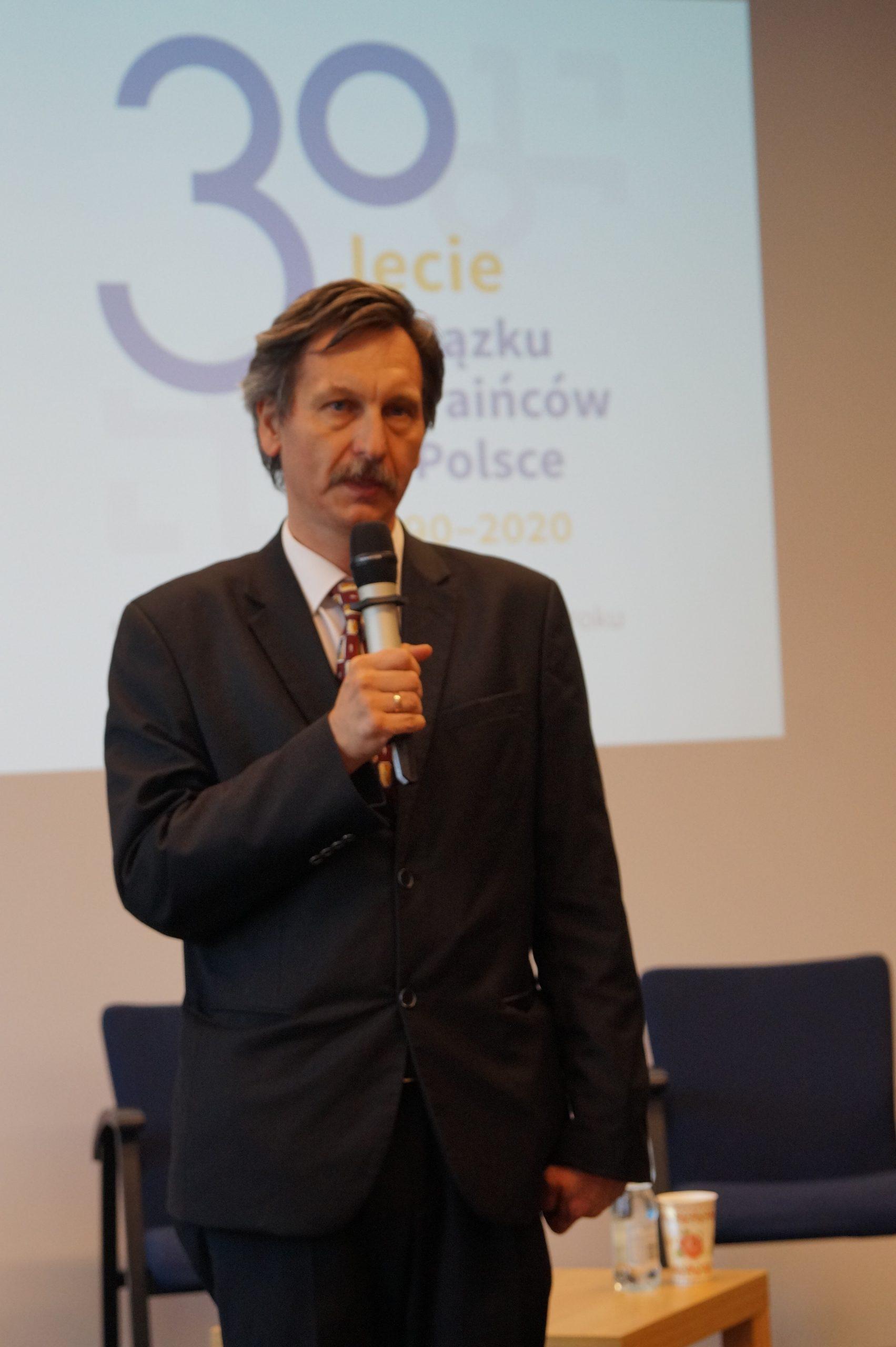 Директор ПНІ на конференції з нагоди 30-ліття Об'єднання українців у Польщі