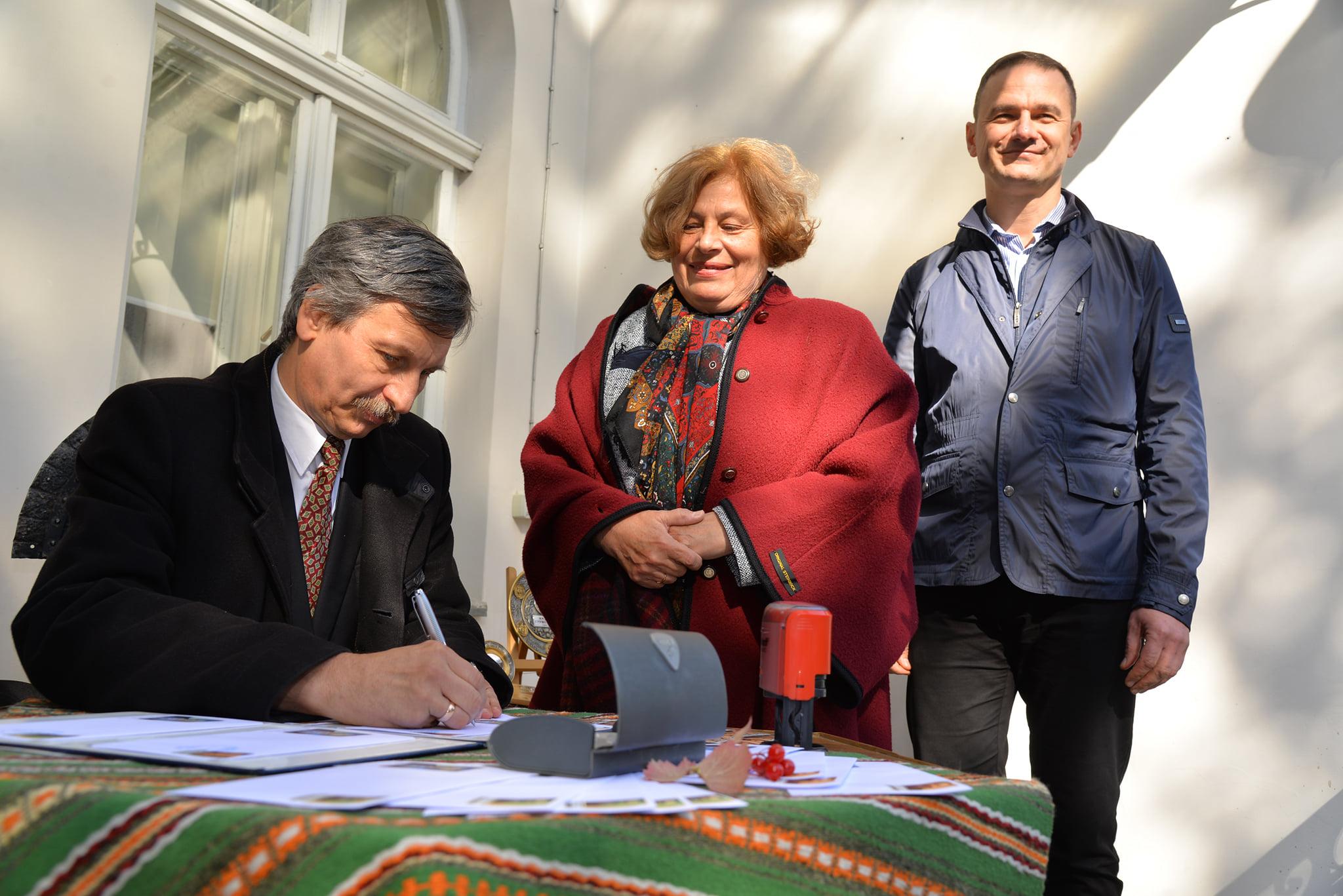 Директор ПНІ взяв участь в урочистостях у Львові з нагоди 155-річчя народження Михайла Грушевського